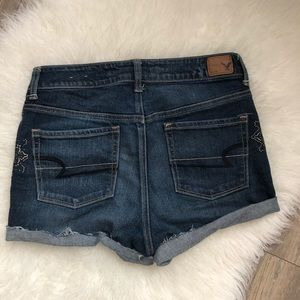 American Eagle Outfitters Shorts - AEO American Eagle Festival Distressed Shorts Sz 8